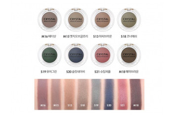TONYMOLY Crystal Single Eye Shadow Тени для Глаз