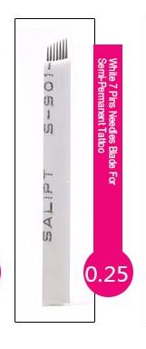 Иглы лезвие (7) в Астане для нанесение микроблейдинга, перманентного макияжа (татуажа) бровей