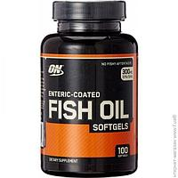 Рыбий жир Optimum Nutrition Fish Oil 100 капсул