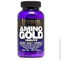 Аминокислоты Ultimate Nutrition Amino Gold Formula 1000мг, 250 таблеток