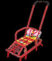 Санки детские Тимка 7 с багажником