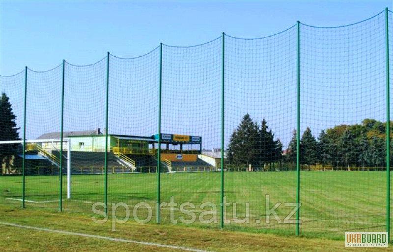 Заградительная сетка для спортзала 100х100х2.2 бел/зел