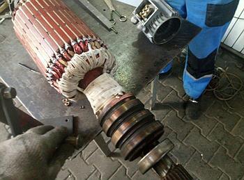 Ремонт крановых роторов