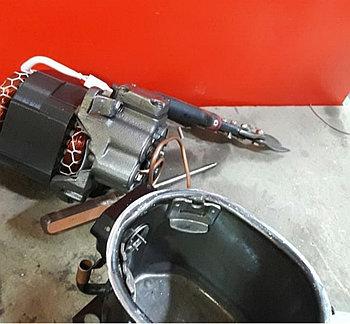 Ремонт электродвигателей  холодильных компрессоров