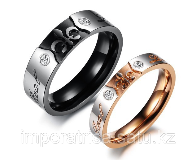 """Двойные кольца для влюбленных """"Real Love"""""""