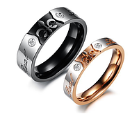 "Двойные кольца для влюбленных ""Real Love"", фото 1"