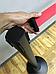 Чёрная стойка с вытяжной лентой красного цвета, фото 5