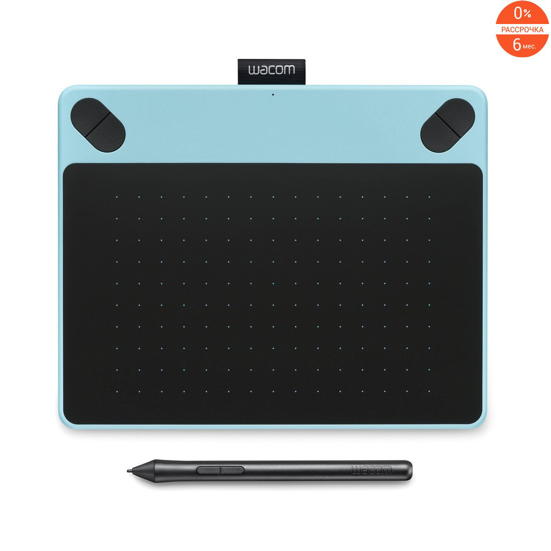 Графический планшет Wacom Intuos Art Small Blue CTH-490