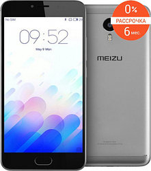 Смартфон Meizu M3 note 16gb (silver)