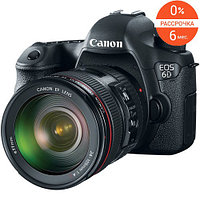 Фотоаппарат Canon EOS 6D kit 24-105mm f/4.0L IS USM