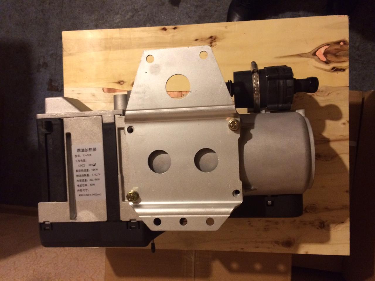 Автономный предпусковой подогреватель двигателя 16Квт 24В