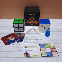 Скоростная головоломка Moyu SenHuan Zhanlang 2x2 Magnetic Cube