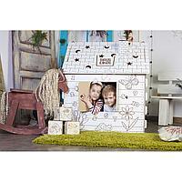 Картонный домик-раскраска, оптом и в розницу