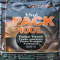 Турбо дрожжи Alcotec на 100 литров