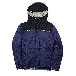 Зимние куртка Scoth & Soda синяя , фото 2