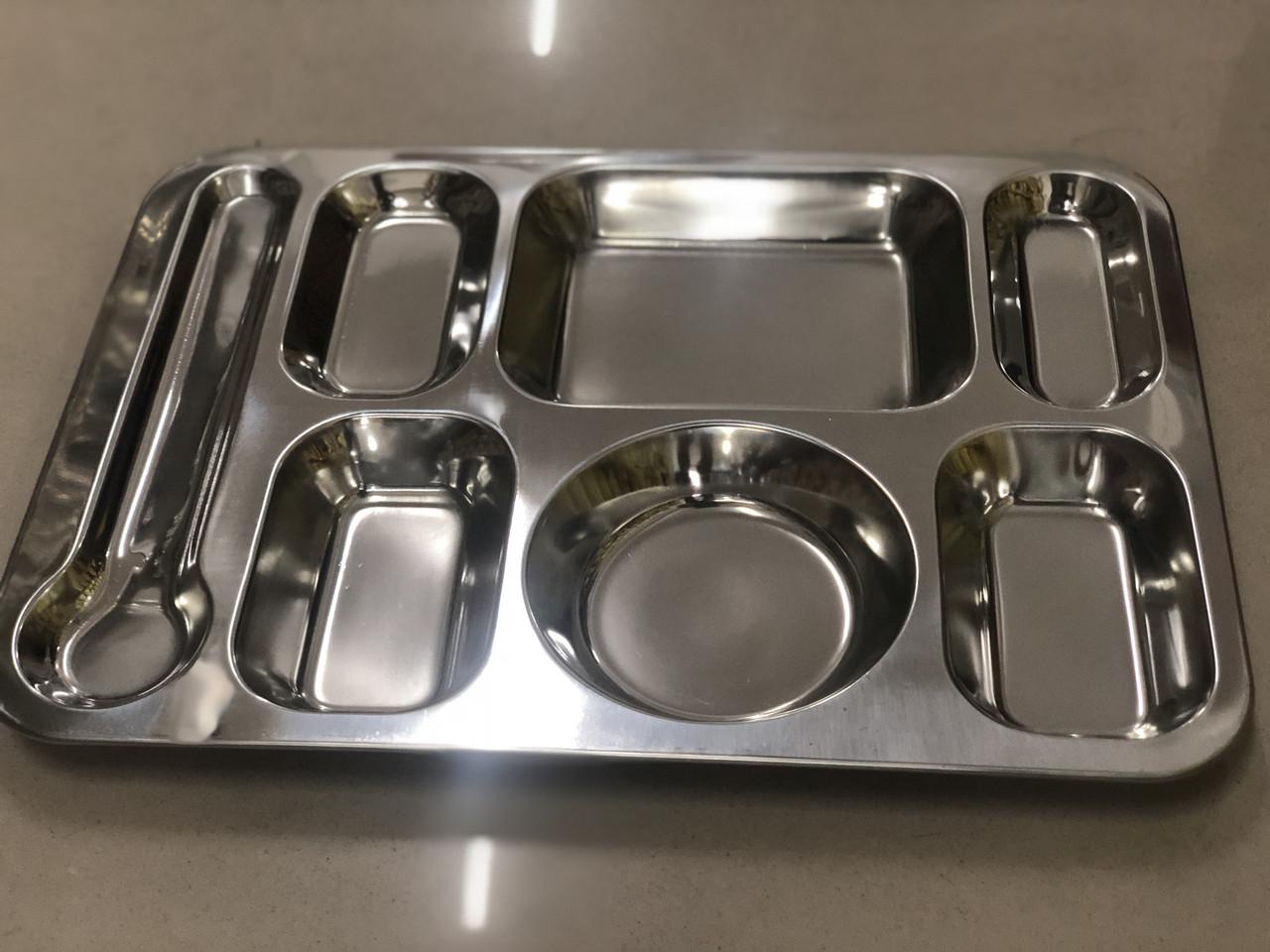 Поднос для общепита металлический