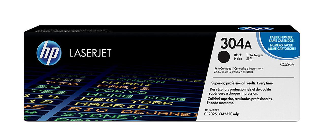 Картридж HP черный CP2025n/CP2025dn/CM2320nf/CM2320fxi