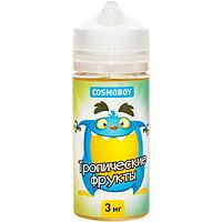 Жидкость для электронных сигарет Cosmoboy 100 мл Тропические Фрукты  0, 3, 6 мг/мл