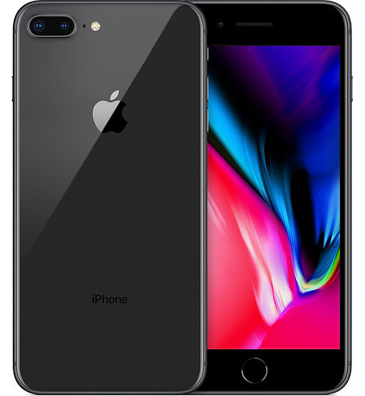 Смартфон Apple iPhone 8 Plus 256 Гб, Space Gray