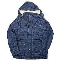Зимние куртка Джинсовая , фото 1