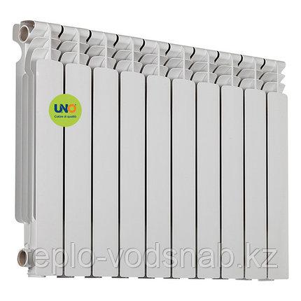 Алюминиевый радиатор UNO-RAVELLO 500/100 (10секц), фото 2