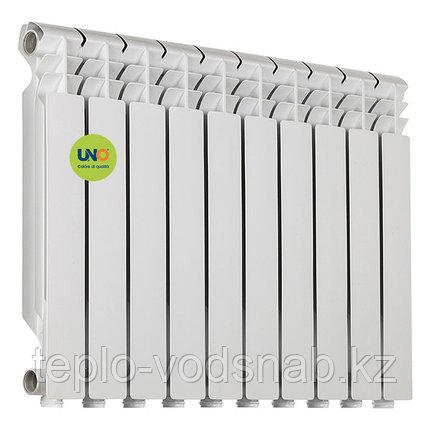 Алюминиевый радиатор UNO-TARIO 500/80 (10секц), фото 2