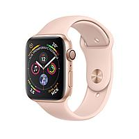 Apple Watch 40mm Series 4 Gold Aluminum Case with Pink Sand Sport Band, фото 1