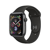 Apple Watch 40mm Series 4 Space Gray Aluminum Case with Black Sport Band, фото 1