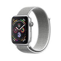 Apple Watch 40mm Series 4 Silver Aluminum Case with Seashell Sport Loop, фото 1
