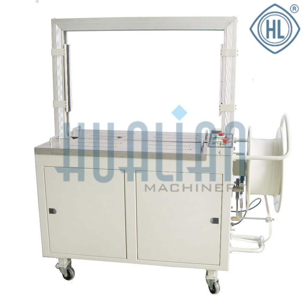 KZW-8060/C Автоматический стреппинг упаковщик с приводным рольгангом