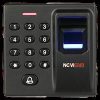 Автономный биометрический контроллер СКУД с клавиатурой и встроенным считывателем карт и меток NOVIcam SFE15K