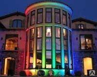 Архитектурное освещение, Монтаж, установка и проектирование подсветки фасадов зданий