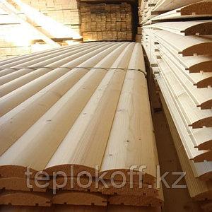 Блок-хаус 35х130 мм сорт АВ, длина от 3 до 6 м