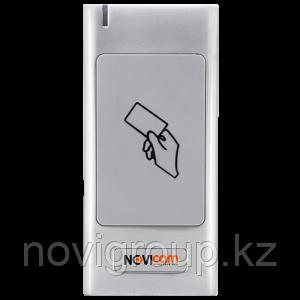 Антивандальный уличный всепогодный считыватель идентификаторов Mifare NOVIcam MR22W