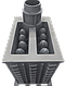 Печь банная чугунная Гефест ПБ-01МС-ЗК, фото 2