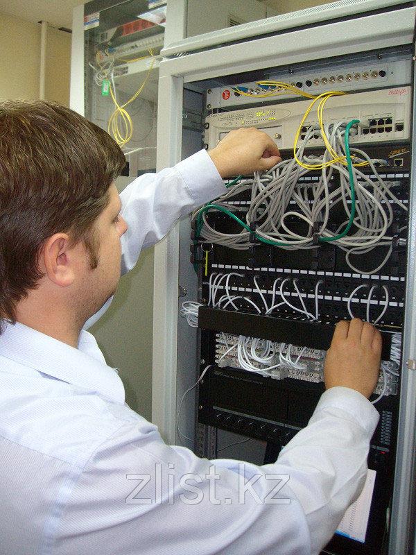 Монтаж серверов