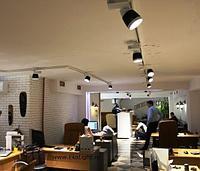Светильник направленного освещения 4-линейный, трековый светильник, металогалогенновый, фото 2