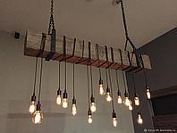 Подсветка помещений лампами Эдисона, оформление лампами Эдисона, оформление кафе, ресторанов, потолков, фото 8