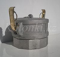 Муфта слива с крышкой МС100