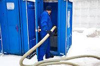 Откачка биотуалетов и туалетных кабин тел: +7 708 212-01-86