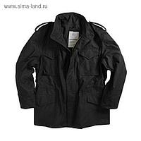 Куртка M-65 Black с подстежкой  Alpha Industries  XL