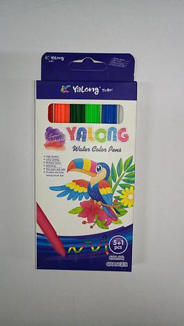 "Фломастеры ""Yalong"" 6 цвета/, фото 2"