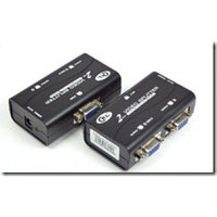 Сплиттер VGA 2 port 1920 x 1440 Support 150-250MHz + Power Supply