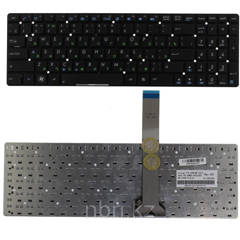 Клавиатура Asus A55 / K55VD / K75 / K55 RU