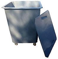 Мусорные контейнеры 0,75 куб с крышкой с колесами (НДС 12% в т.ч.)
