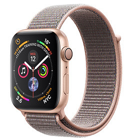 Apple Watch Series 4 40mm Gold Aluminium Case with Pink Sand Sport Loop