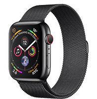 Apple Watch Series 4 44mm Space Black Case with Space Black Milanese Loop