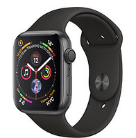 Apple Watch Series 4 40mm Space Grey Aluminium Case with Black Sport Band