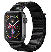 Apple Watch Series 4 44mm Space Grey Aluminium Case with Black Sport Loop