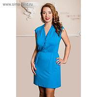 Платье женское, размер 42, цвет голубой 567